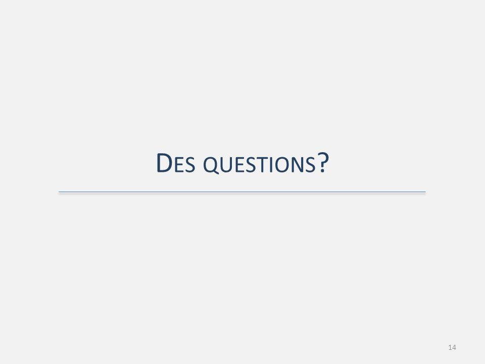 D ES QUESTIONS 14