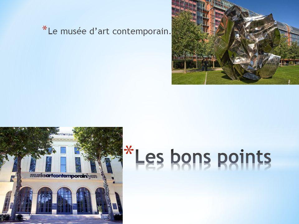 * Le musée des Beaux arts.