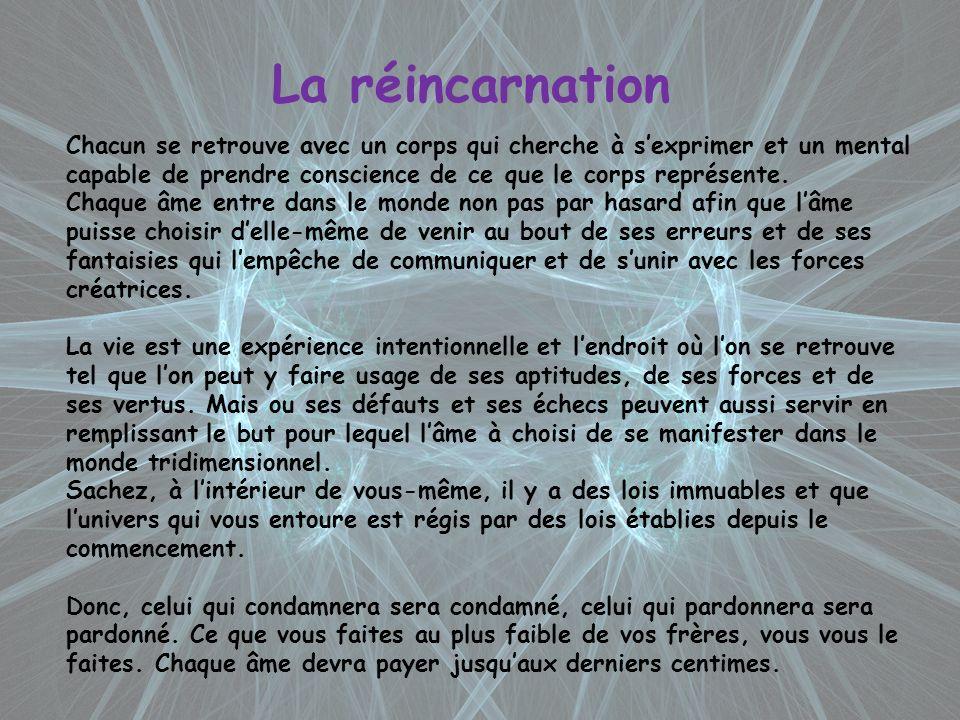 La réincarnation Alors, levez vous et agissez !!!.
