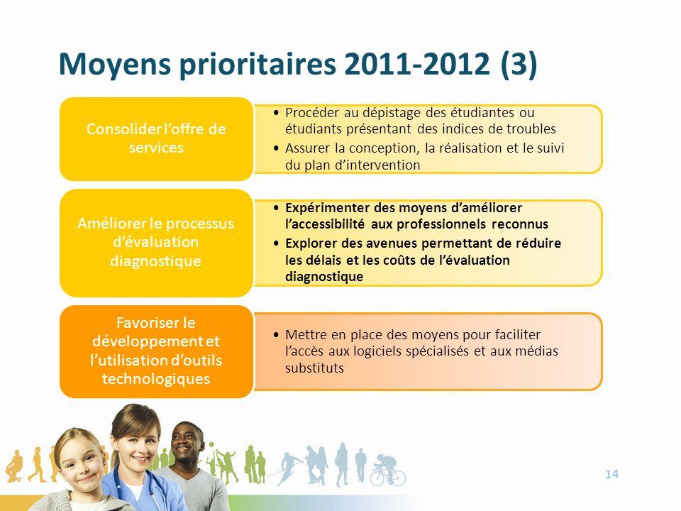 Moyens prioritaires 2011-2012 (3) 14