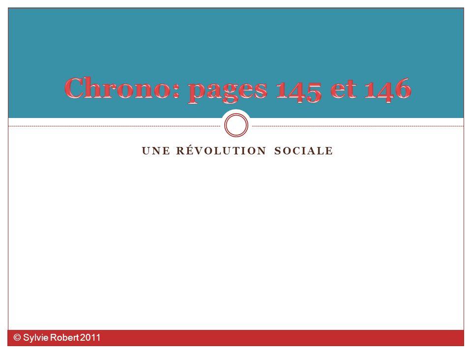 UNE RÉVOLUTION SOCIALE © Sylvie Robert 2011