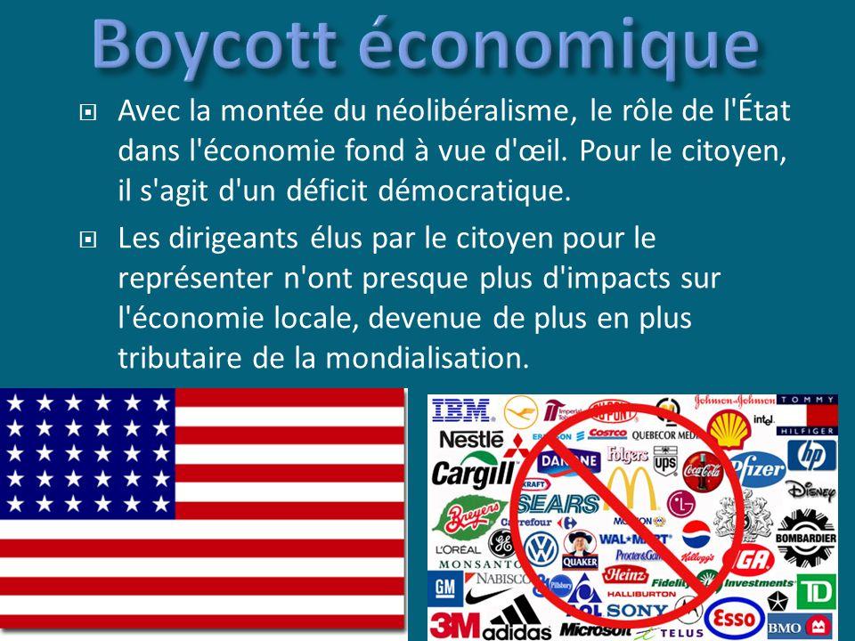 boycott pétition manif enlever les marques apparentes (No Logo) acheter des produits locaux faites des plaintes aux commerçants dénoncer les fraudes et l arnaque des entreprises