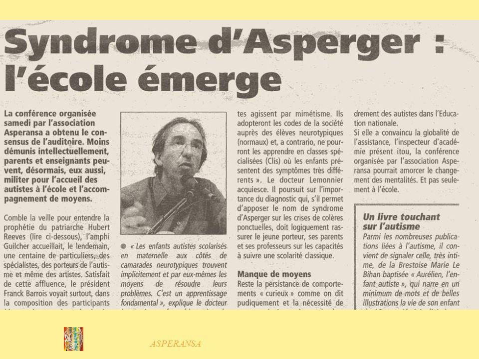 ASPERANSA Témoignages dadultes Asperger Georges Lila