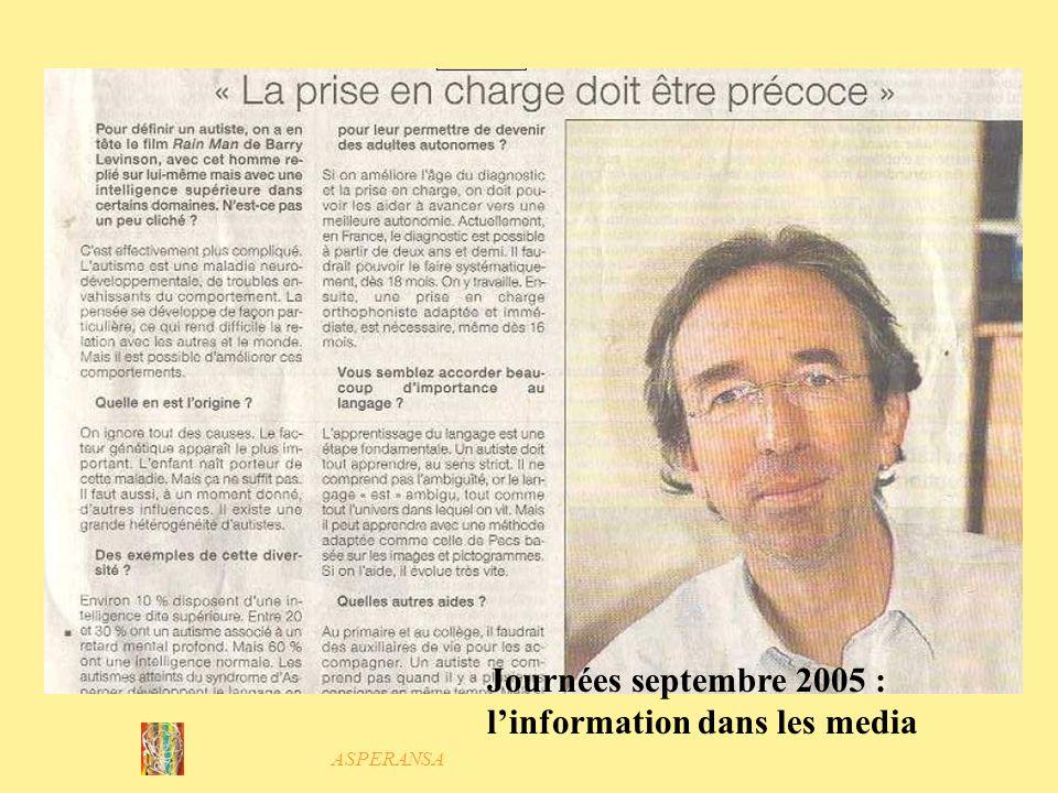 ASPERANSA Journées septembre 2005 Spectacles Cécile Lacombe et Jean- Yves Girard Compagnie de lEmbarcadère