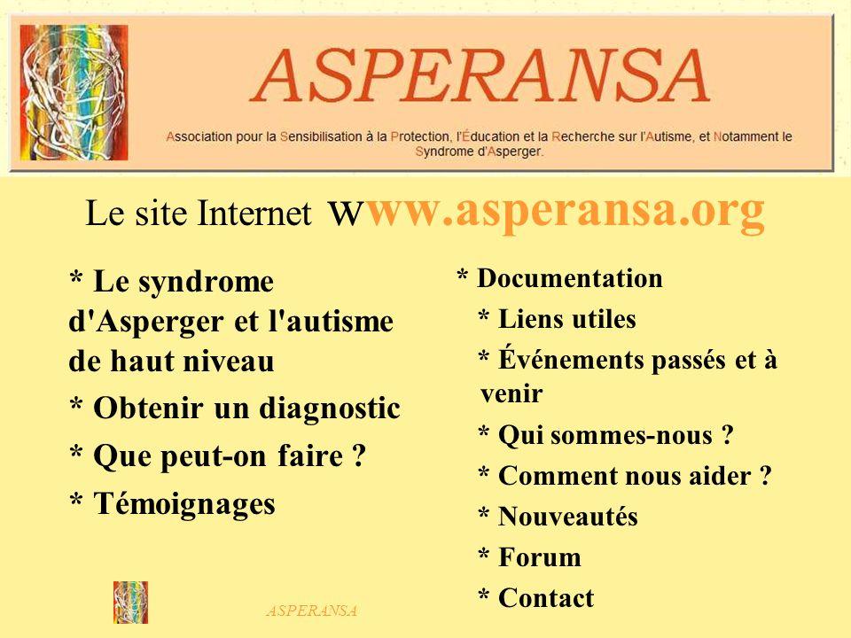 ASPERANSA Journées septembre 2005 : linformation dans les media