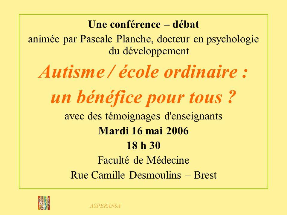 ASPERANSA 2006 : forum sur le site Internet