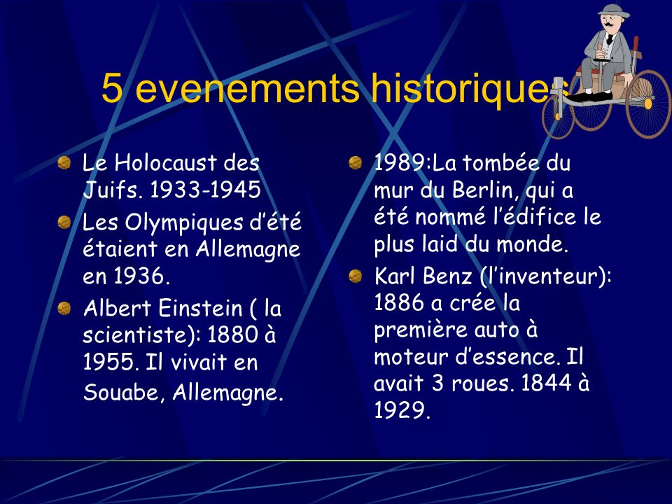 5 evenements historiques Le Holocaust des Juifs.