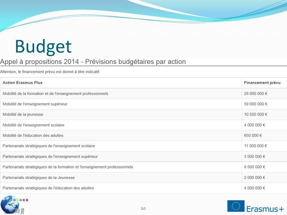 Budget 20