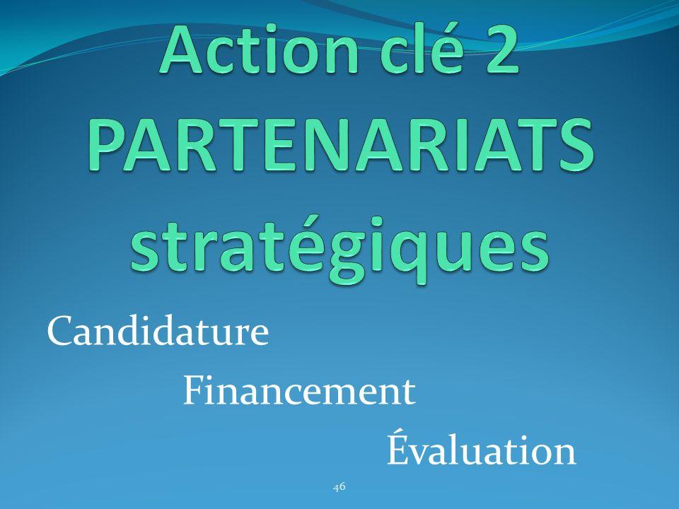 Candidature Financement Évaluation 46