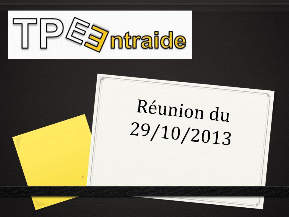 Réunion du 29/10/2013 1