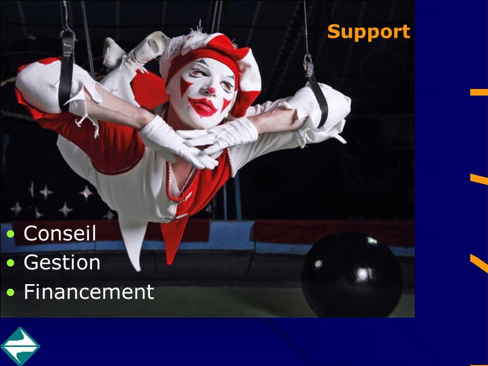 Support Conseil Gestion Financement