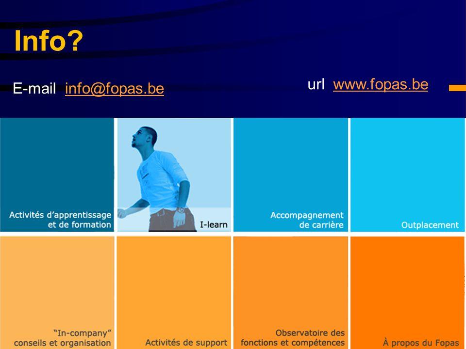 Info? E-mail info@fopas.beinfo@fopas.be url www.fopas.bewww.fopas.be