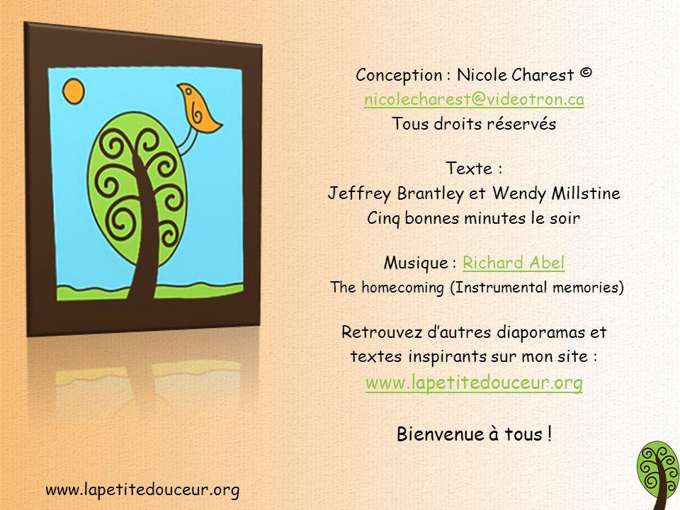 www.lapetitedouceur.org Petites douceurs pour le cœur présente des textes courts, significatifs et diversifiés, qui sauront insuffler à votre quotidien un vent de tendresse, doptimisme et de renouveau.