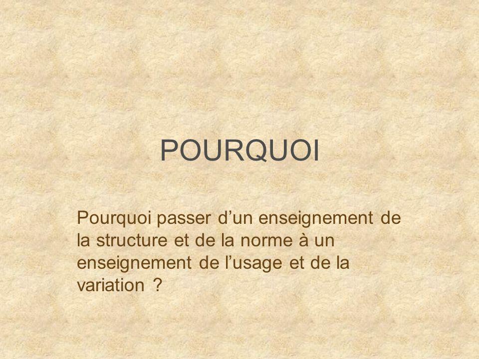 Situation historique de la problématique Deux périodes et deux objectifs différents : - De lAcadémie française en passant par 1789, la Convention, et les I.O.