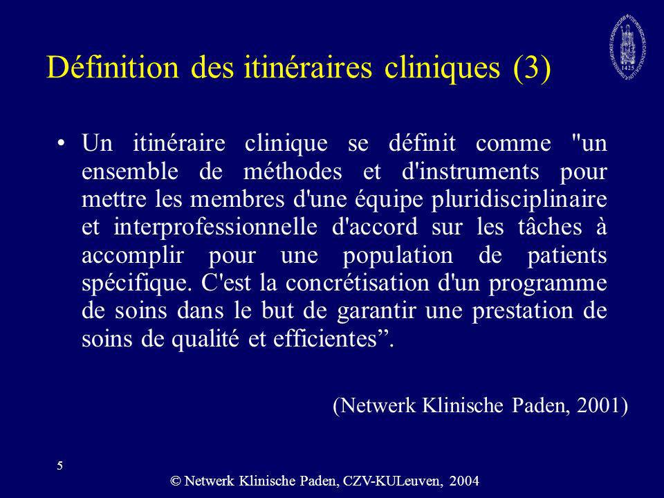 36 Impact financier Littérature: Dy, Health Services Research 26 itinéraires chirurgicaux Résultats: positif pour seulement 7 des 26 itinéraires –Because pathway utilization was not a strongly predictor of pathway effectivenness, the mechanism by which clinical pathways may reduce length of stay is unclear.