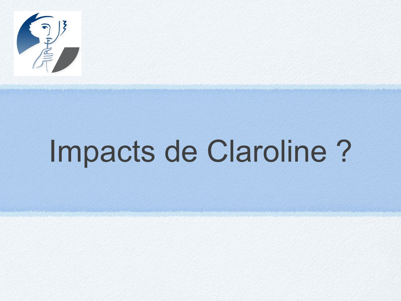 Impacts de Claroline ?