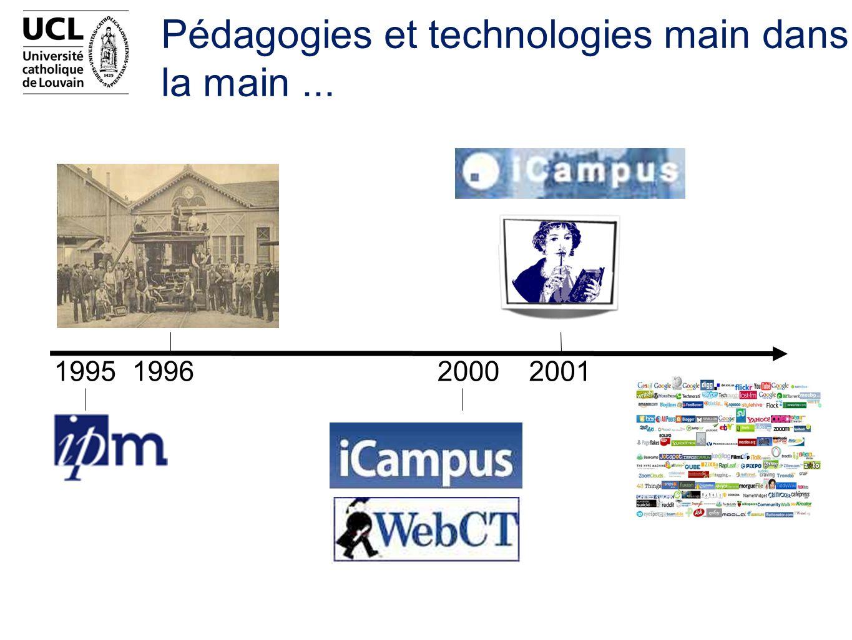 1995199620002001 Pédagogies et technologies main dans la main...