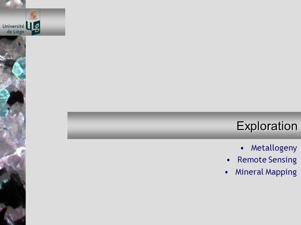 Metallogeny Travaux de terrain –Modèle métallogénique –Analyses de paragenèses –Eléments en trace valorisables - pénalisants HOUSSA Ch-E.