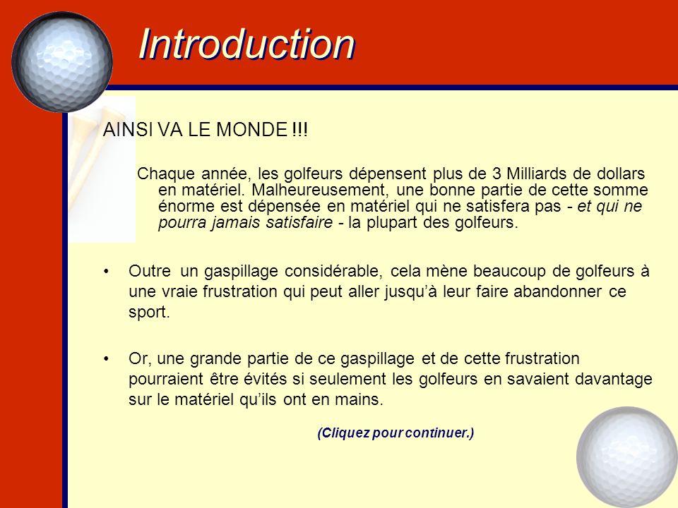 Introduction AINSI VA LE MONDE !!.