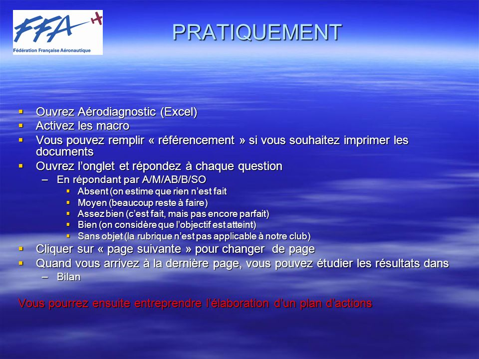 Questions & commentaires : I.