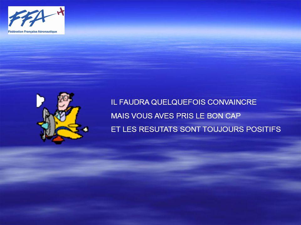 IL FAUDRA QUELQUEFOIS CONVAINCRE MAIS VOUS AVES PRIS LE BON CAP ET LES RESUTATS SONT TOUJOURS POSITIFS