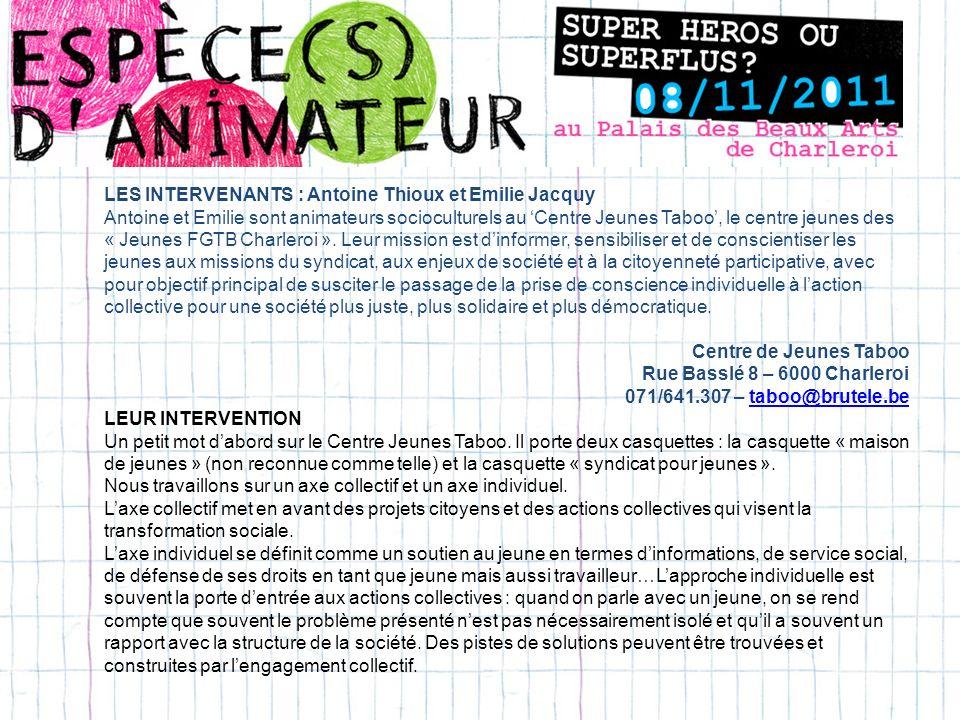 POUR POURSUIVRE LA REFLEXION… Le site « En ligne directe » : www.enlignedirecte.bewww.enlignedirecte.be Interviews de Bernard De Vos pour le Ligueur : http://leligueur.citoyenparent.be/rubrique/en- images/interview-de-bernard-devos/http://leligueur.citoyenparent.be/rubrique/en- images/interview-de-bernard-devos/