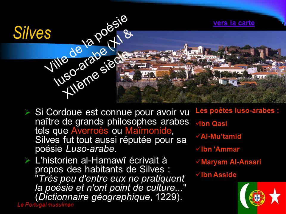 Le Portugal musulman Marvão Marvão tient son nom dun prince autochtone converti à lislam : ibn Marwan Laffiche ci-contre présente une commémoration ac