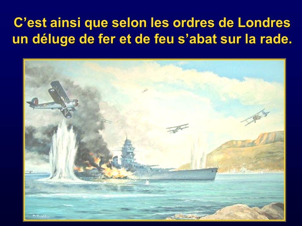 Selon Kammerer et certains marins témoins, les deux amiraux cherchèrent un compromis.