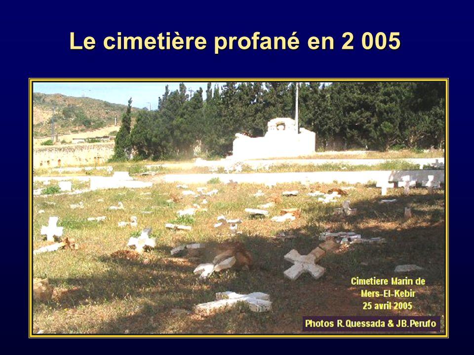 cimetière marin de Mers el Kebir