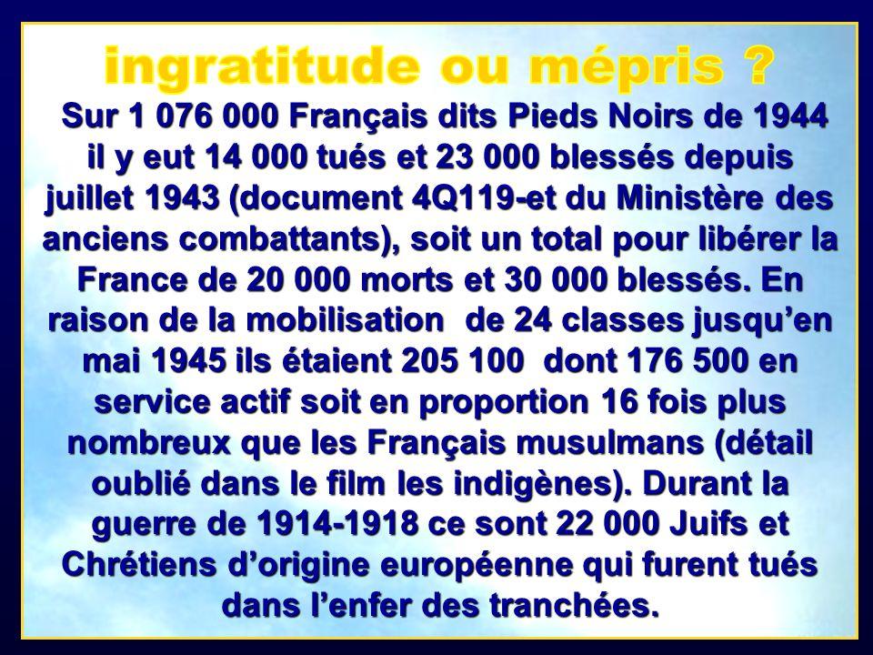 Après 1962 bien dautres tombes militaires furent abandonnées dans l indifférence, et de nombreux autres cimetières chrétiens et juifs français furent saccagés, sans aucun tapage médiatique en France.