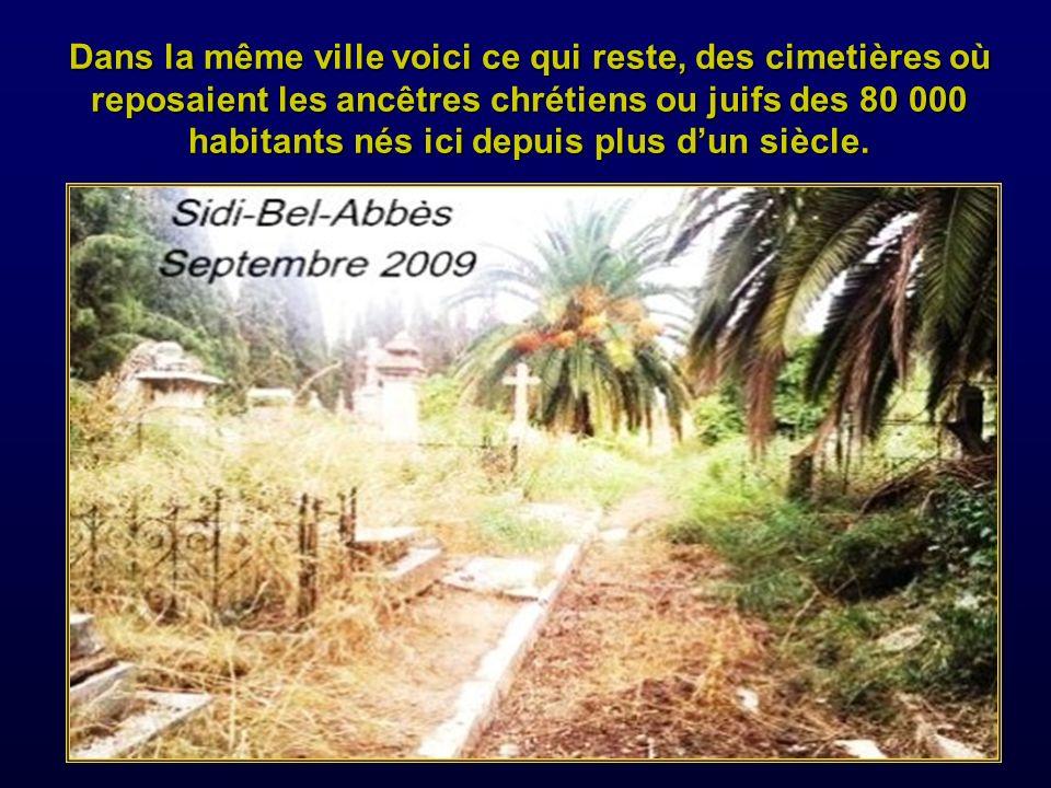 Monuments des villages du Télagh et Parmentier.
