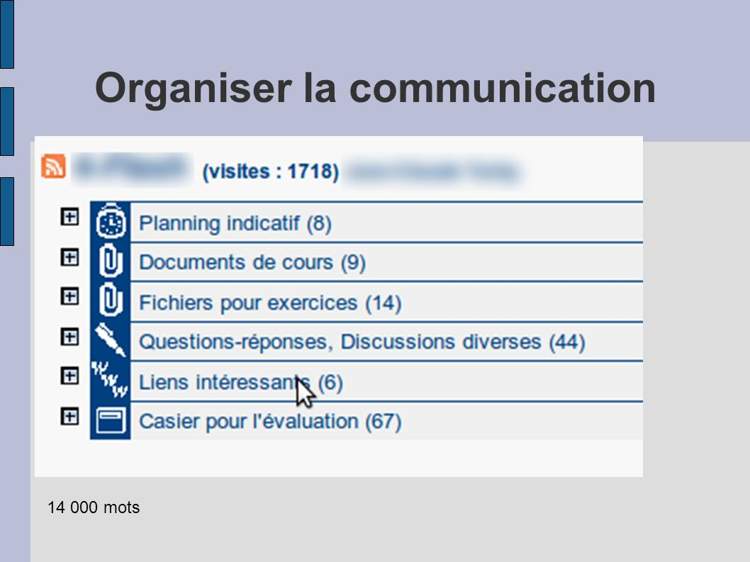 Organiser la communication 14 000 mots