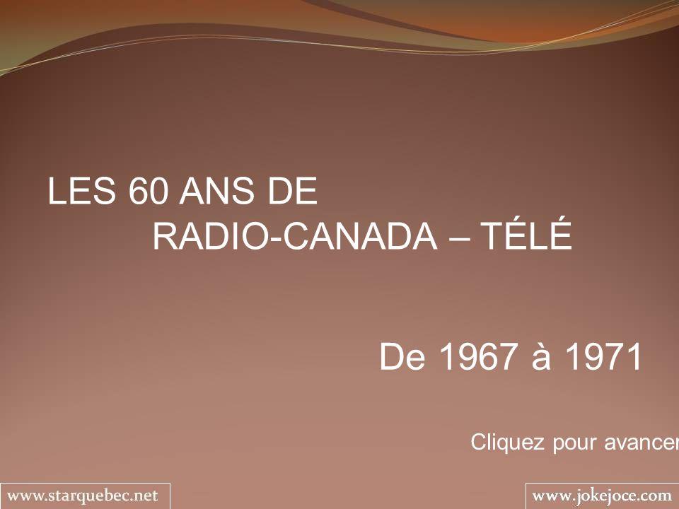1971 – … LA SEMAINE VERTE Yvon Leblanc Les agriculteurs du Québec ont toujours eu droit à un rendez-vous télé.