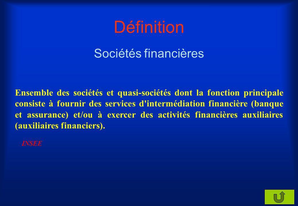 Définition Administrations publiques Ensemble des unités institutionnelles dont la fonction principale est de produire des services non marchands ou d