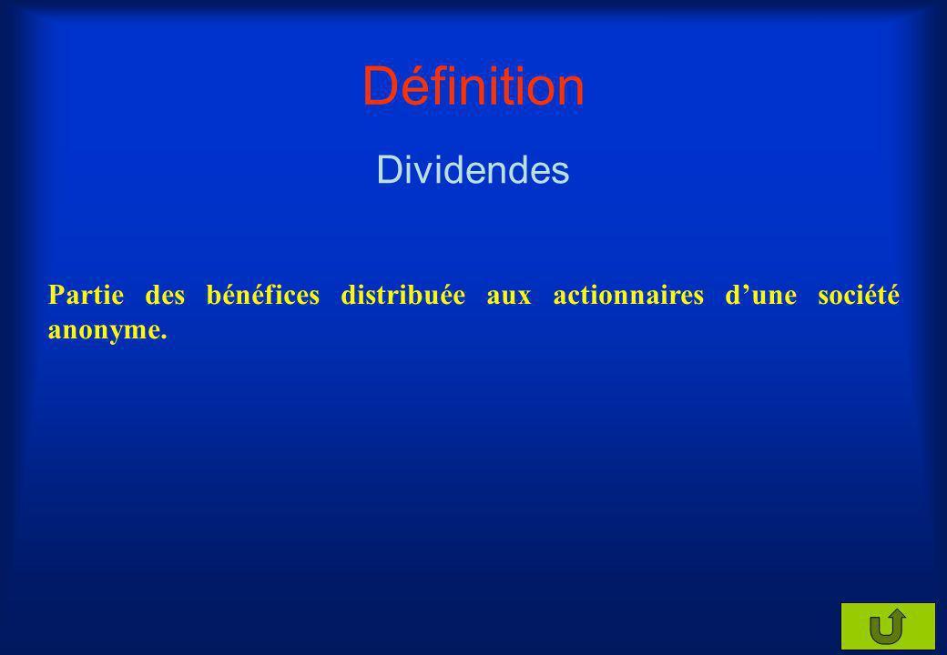 Définition Intérêts Revenu perçu en échange dun prêt monétaire.