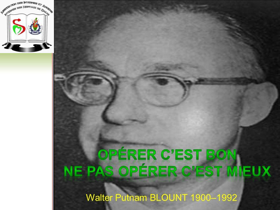 Walter Putnam BLOUNT 1900–1992
