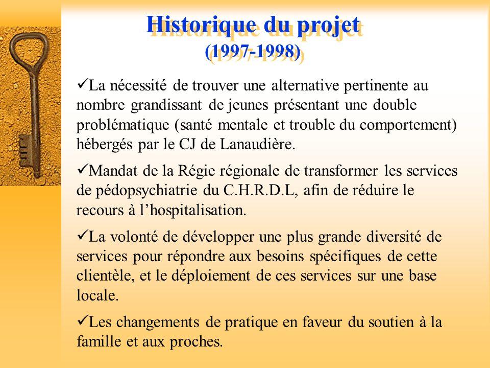 Un projet novateur à construire Historique du projet Conditions de réalisation La clientèle Historique du projet Conditions de réalisation La clientèl