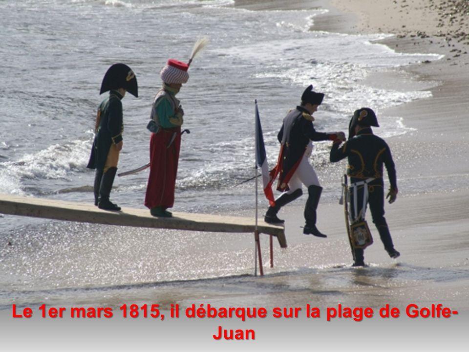 Exilé à lîle dElbe depuis juin 1814, Napoléon décide de reprendre les rênes du pouvoir Nous sommes vendredi 28 mars 2014 Il est exactement 18:54:11