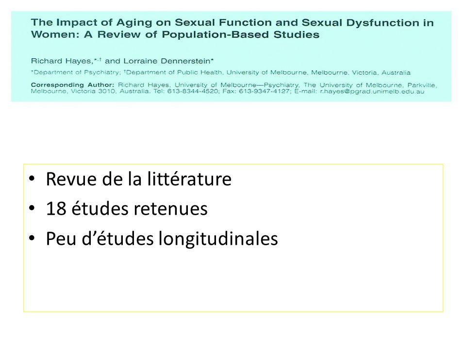 Lactivité sexuelle et la fonction sexuelle déclinent avec lâge…..