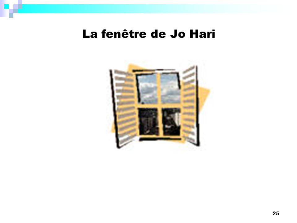 25 La fenêtre de Jo Hari