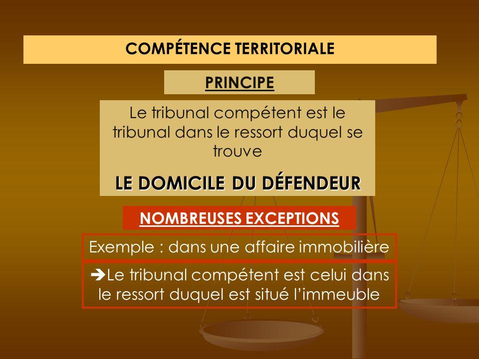 ORDRE JUDICIAIRE TGI Juge de proximité Tribunal de police Cour dassises Tribunal correctionnel TI Tribunal de commerce Conseil de prudhommes 1 er degr