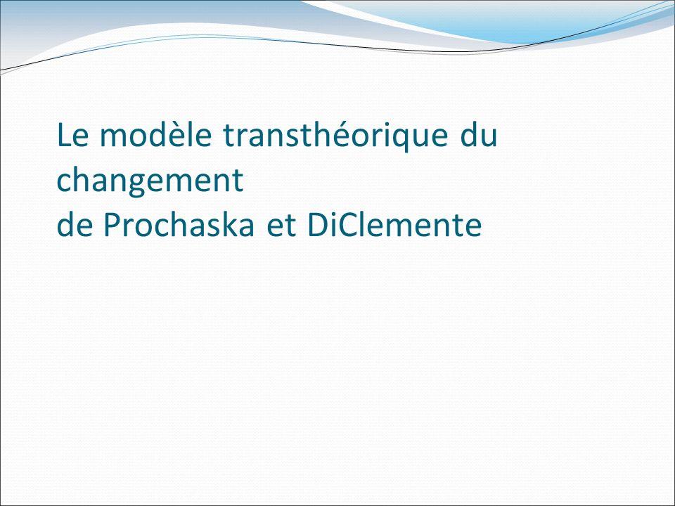 Le modèle transthéorique du changement de Prochaska et DiClemente