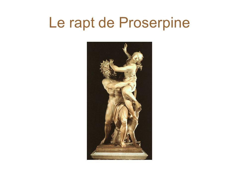 Le rapt de Proserpine