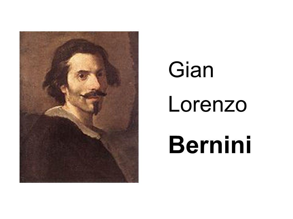 Le Bernin, de son vrai nom Gian Lorenzo Bernini, apprend l art sculptural auprès de son père.