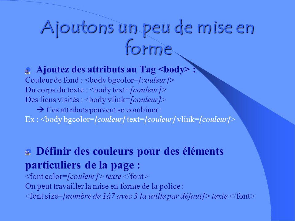 Ma page WEb Ma page Web Mes coordonnées Dupont laurent 4 allée des platanes 65087 monvila Mon adresse électronique mon CV mes domaines de recherche Me