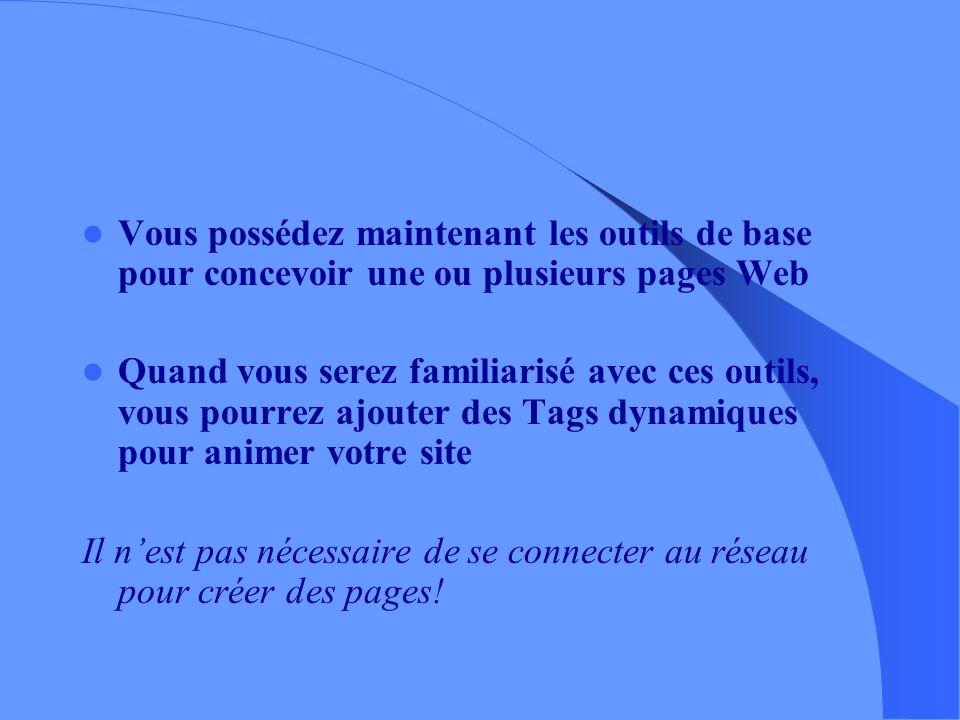 – Pour aller plus loin, manuels en lignes : sur le site TAL –http://www.cavi.univ- paris3.fr/ilpga/ilpga/tal/html/index.htm –balises HTML : http://www