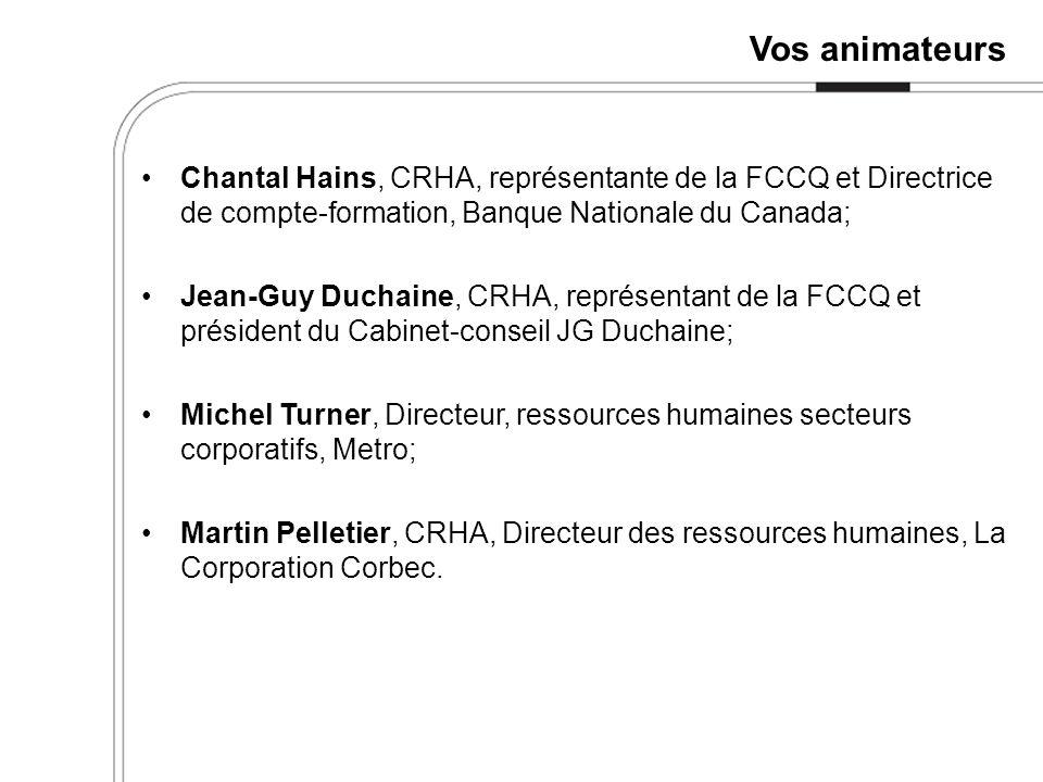 À propos de la FCCQ La Fédération des chambres de commerce du Québec (FCCQ) est le plus important réseau daffaires au Québec.
