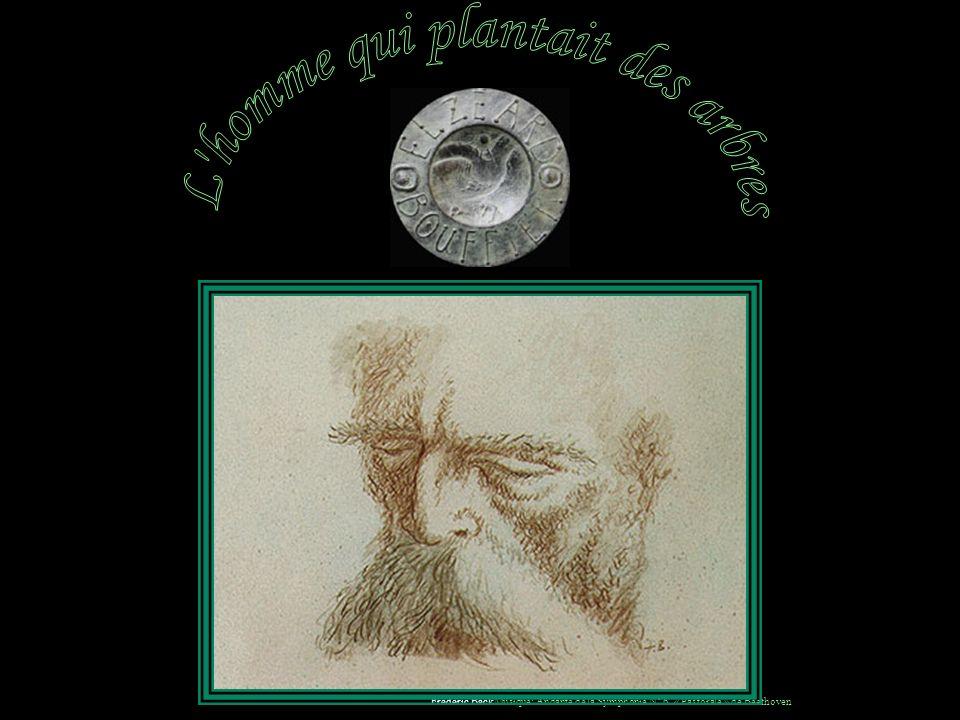 Elzéard Bouffier est mort paisiblement en 1947 à l'hospice de Banon.