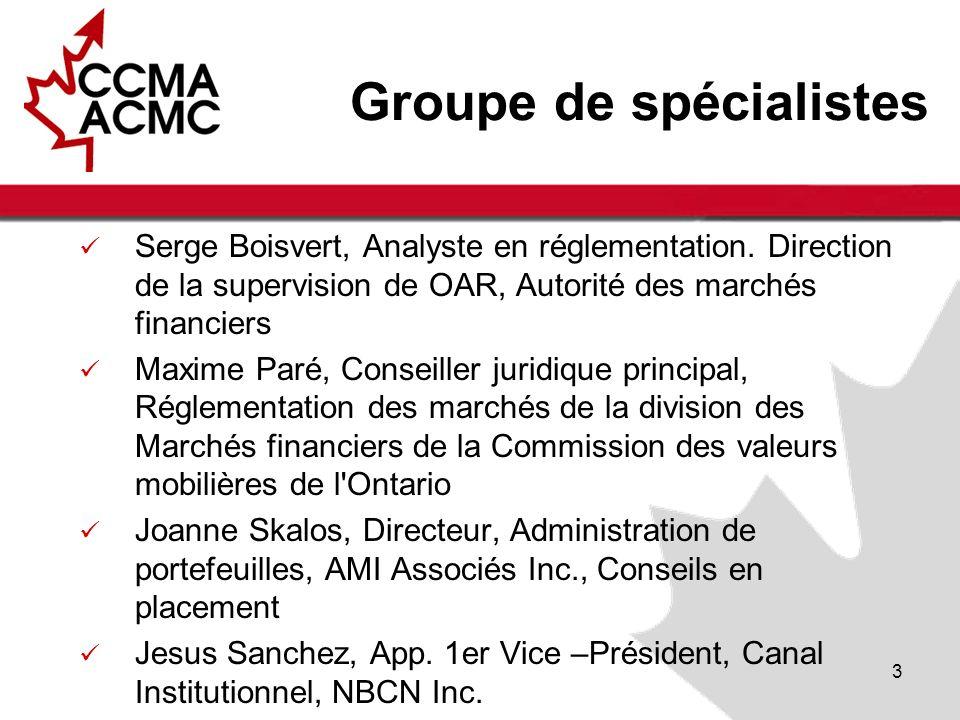 Conseil dadministration et observateurs de lACMC