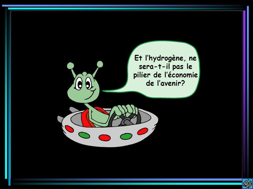 Et lhydrogène, ne sera-t-il pas le pilier de léconomie de lavenir?